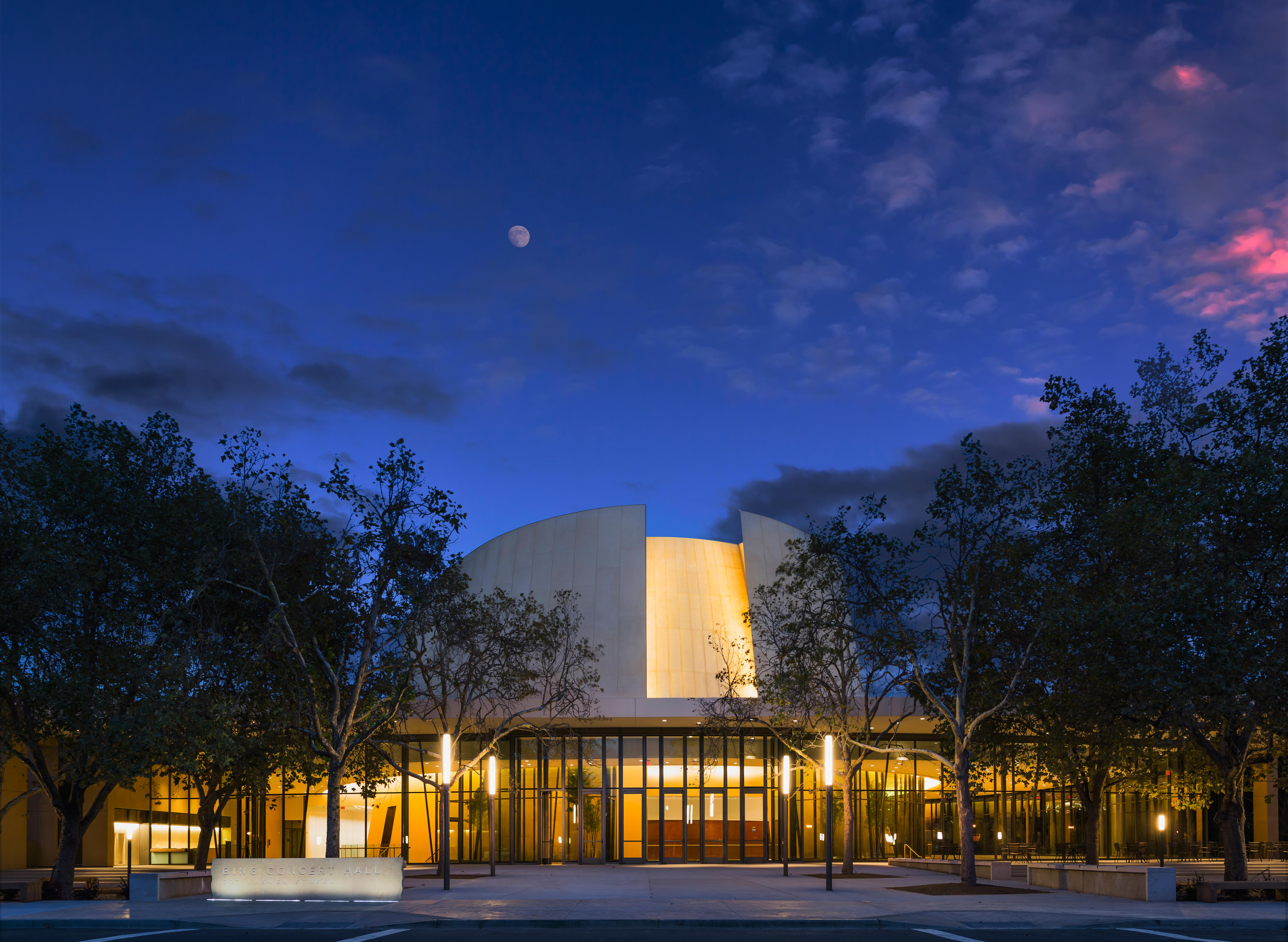 Image of Bing Concert Hall, Stanford