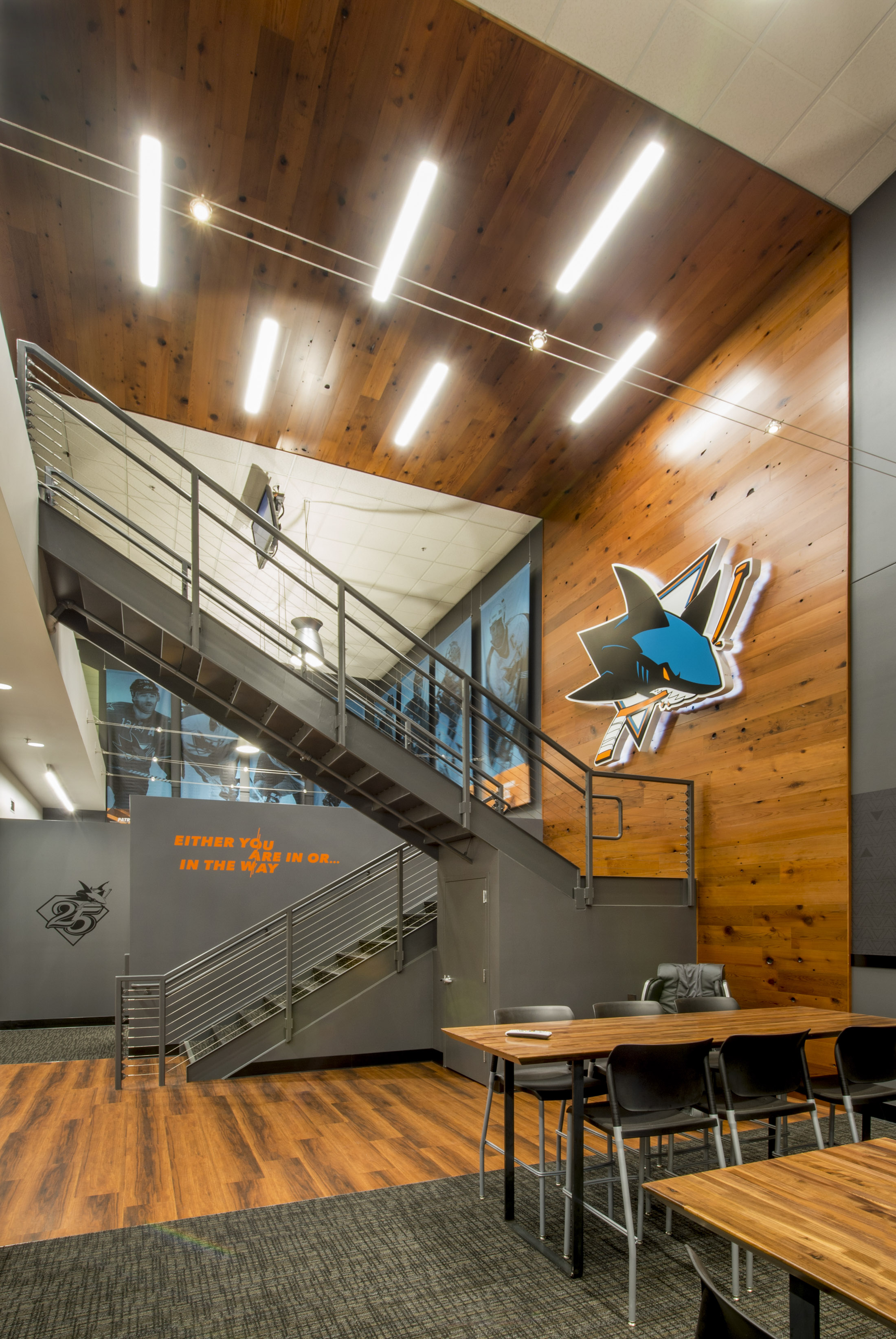 Image of San Jose Sharks Ice Pro Locker Room